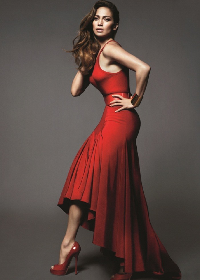 Photo Credit: Vogue/Mert Alas and Marcus Piggott - Jennifer Lopez