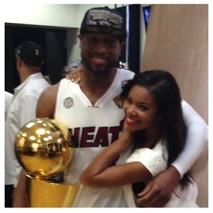 Dwyane Wade and Gabrielle Union