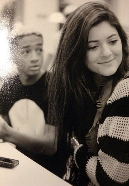 Kylie Jenner Twitter Instagram Photos, Jaden Smith