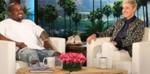 Kanye West on Ellen DeGeneres