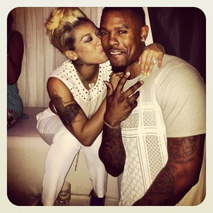"Keyshia Cole and Daniel ""Boobie"" Gibson"