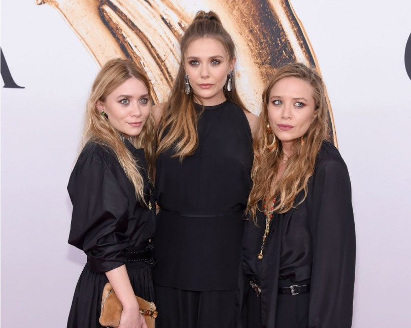 Mary-Kate And Ashley Olsen Elizabeth Olsen