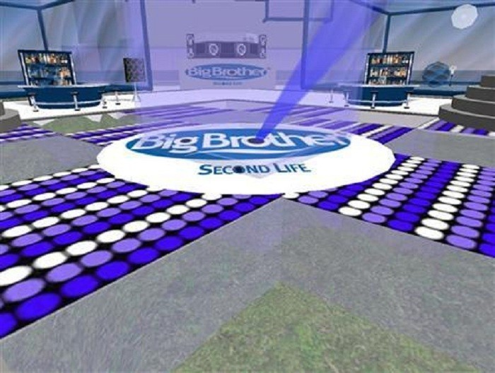 Photo Credit: Reuters/Ho - Big Brother house in virtual world Second Life