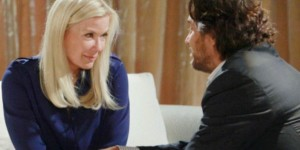 Brooke confides in Ridge on the June 28, 2016 episode of 'The Bold and the Beautiful'