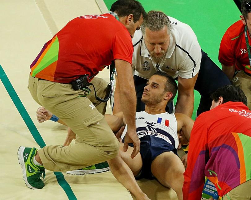 Frenchman Samir Ait Said suffers horror break in qualifying
