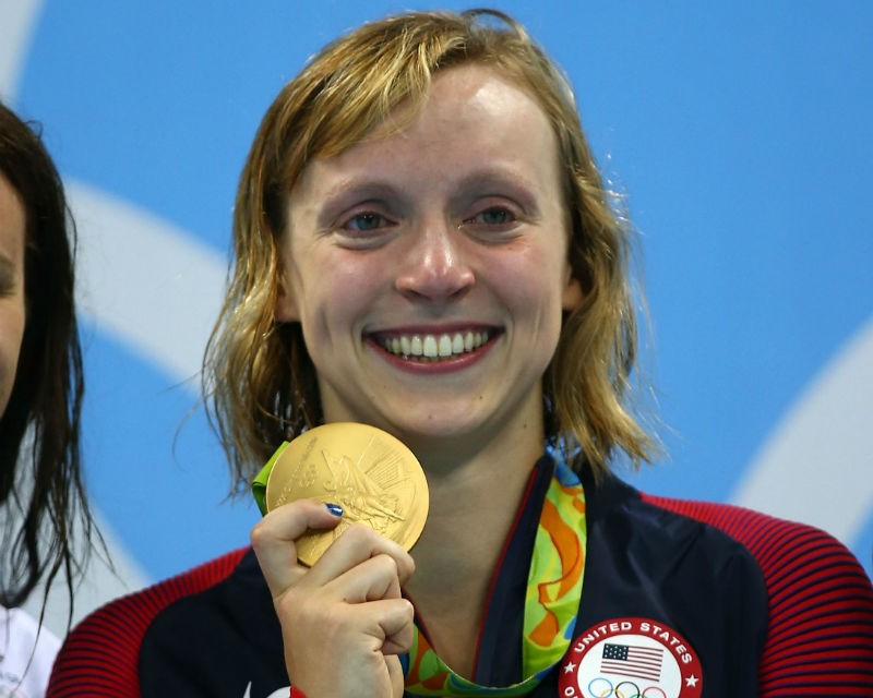 how tall is swimmer ledecky