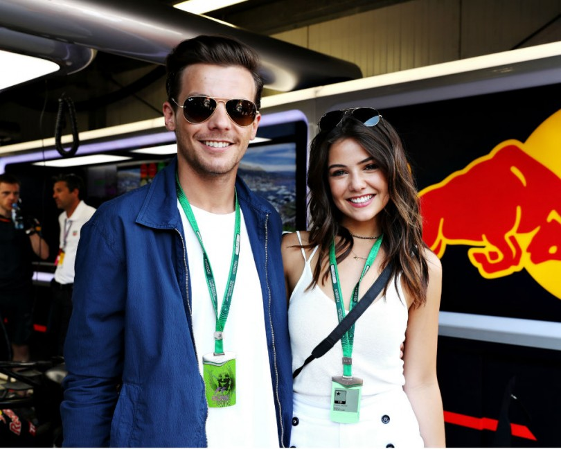 news louis tomlinson danielle campbell together article