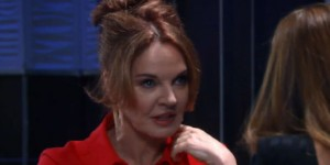 Naomi is threatened that her big secret is about to be revealed on the August 26, 2016 episode of 'General Hospital'