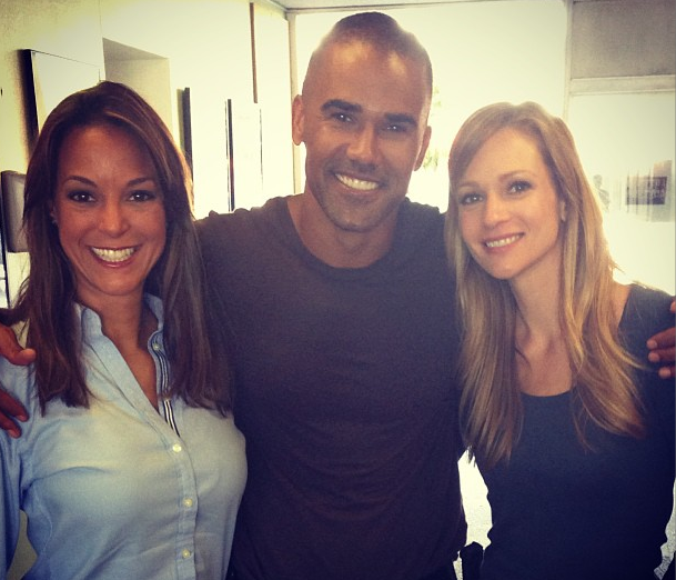 Eva La Rue, Shemar Moore and A.J. Cook