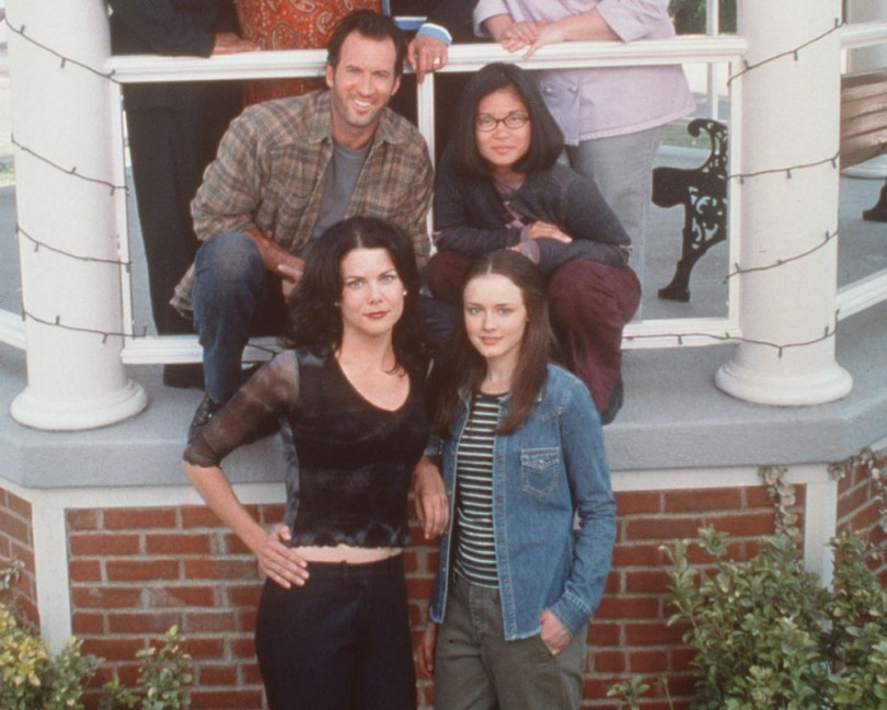 See the first page of the script for The Gilmore Girls reunion