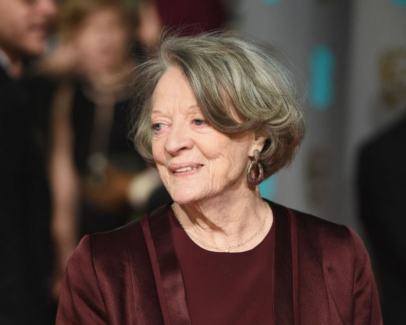 'Downton's' Maggie Smith responds to Jimmy Kimmel