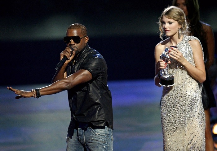 Kanye West Taylor Swift VMAs