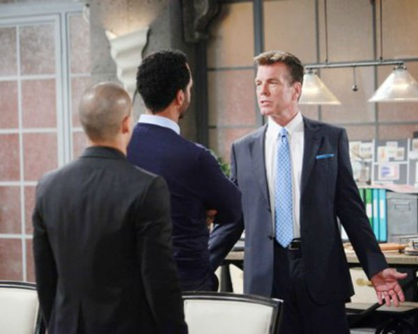 Jack is questioned about whether Phyllis' fall was accidental or not on the September 23, 2016 episode of 'The Young and the Restless'