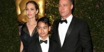 Angelina Jolie, Maddox & Brad Pitt