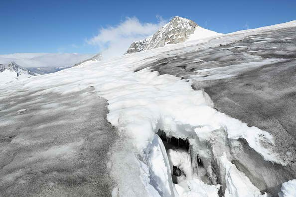 Europe's Melting Glaciers: Outer Mullwitzkees