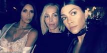 Kim Kardashian, Simone Harouche, Kourtney Kardashian