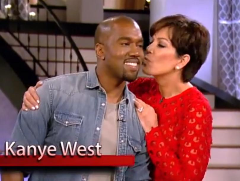 Kanye West Kis Jenner