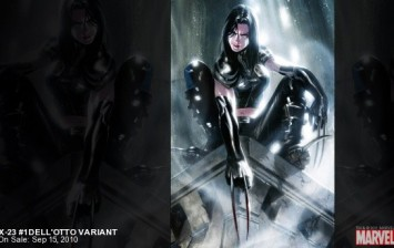 X-23 is a a clone which is made from the DNA of Wolverine.