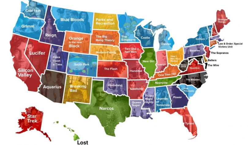 TV map