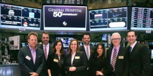 General Hospital Celebrates Its 50th Anniversary At The New York Stock Exchange