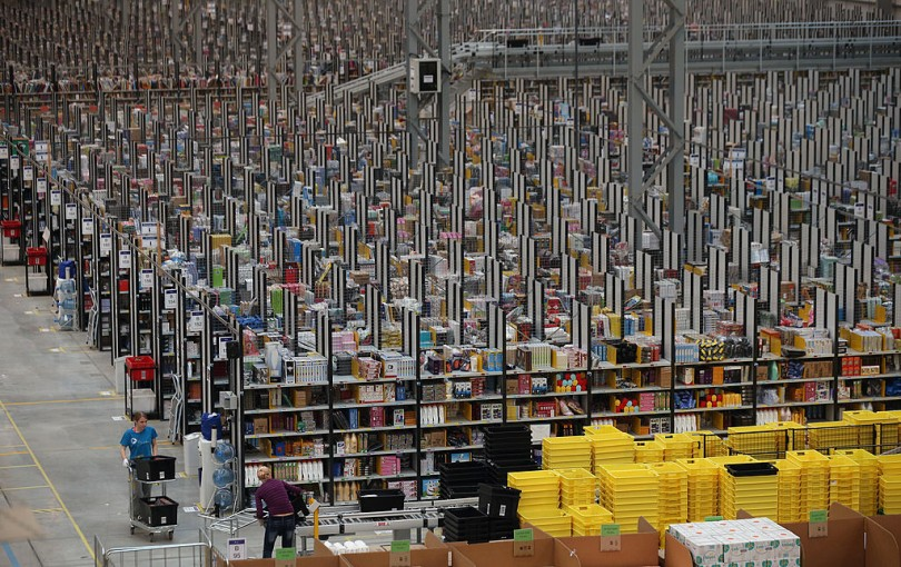 Online Retailer Amazon Prepares For Cyber Monday