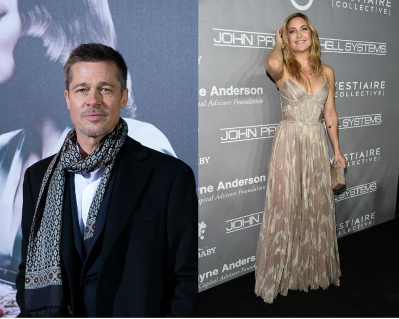 Brad Pitt & Kate Hudson