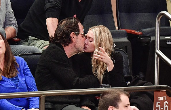 Ashley Olsen and Richard Sachs