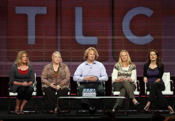 TV personalities Meri Brown, Janelle Brown, Kody Brown, Christine Brown and Robyn Brown of the 'Sister Wives'