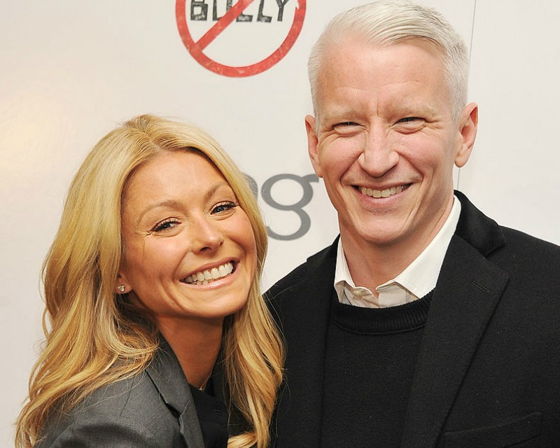 Kelly Ripa Anderson Cooper