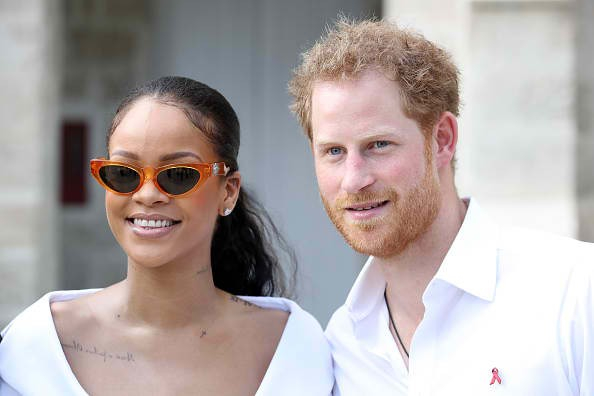 Prince Harry of Britain and Rihanna