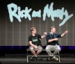 Producers Justin Roiland and Dan Harmon