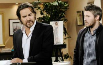 Liam and Ridge will come up with a plan to try and take Quinn out of their lives for good on the December 26, 2016 episode of 'The Bold and the Beautiful'