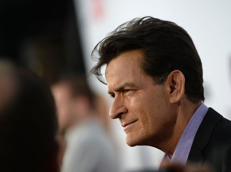 Charlie Sheen hopes Donald Trump is next on God's hit list