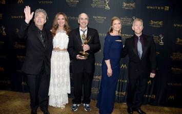 Directors Larry Carpenter,far left, and William Ludel, center,