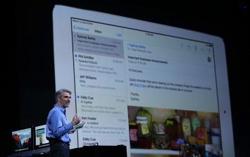 Apple iPad on WWDC