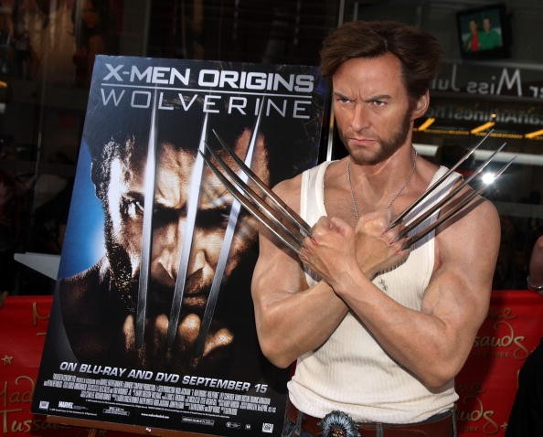 Hugh Jackman's 'Wolverine' Wax Figure Receives A Manicure