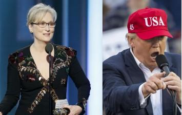 Meryl Streep, Donald Trump