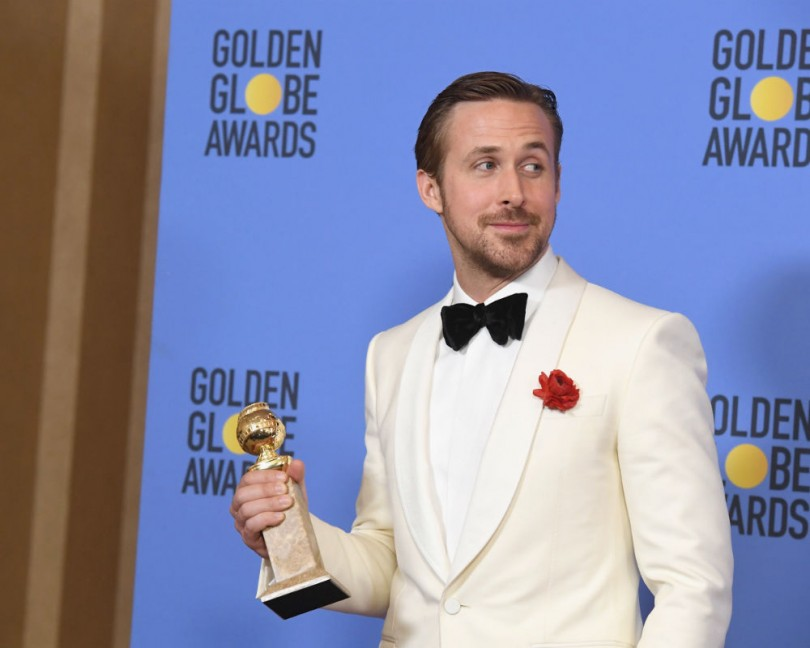 Golden Globes 2017: Ryan Gosling's Public but Quiet Tribute to Eva Men