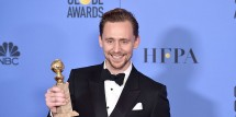 Tom Hiddleston Golden Globe Speech