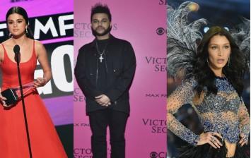 Selena Gomez, The Weeknd, Bella Hadid