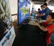 Bandai Namco Holdings Inc. Booth At Tokyo Game Show