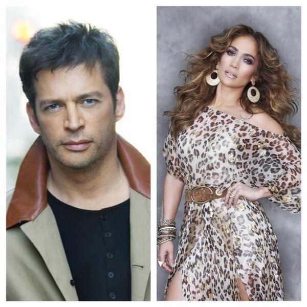 Harry Connick, Jr and Jennifer Lopez