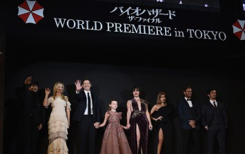 'Resident Evil: The Final Chapter' World Premiere In Tokyo