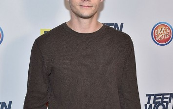 Actor Dylan O'Brien attends the MTV Teen Wolf Los Angeles premiere party at Dave & Busters on December 20, 2015 in Hollywood, California.
