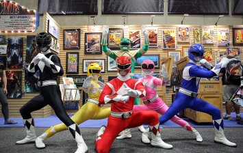 Saban's Power Rangers At San Diego Comic-Con