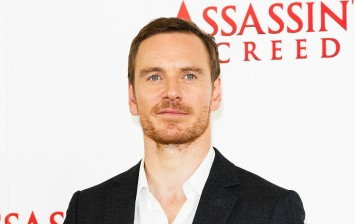 Actor Michael Fassbender reprises his role as David in