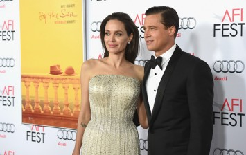 Angelina Jolie and Brad Pitt at the AFI FEST 2015 Presented By Audi Opening Night Gala Premiere Of Universal Pictures' 'By The Sea' – Arrivals