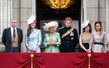 The royal family during Trooping The Colour