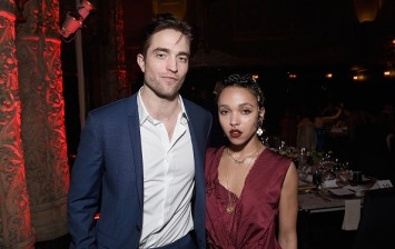 Robert Pattinson and FKA Twigs at the L.A. Dance Project's Annual Gala - Cocktails And After Party