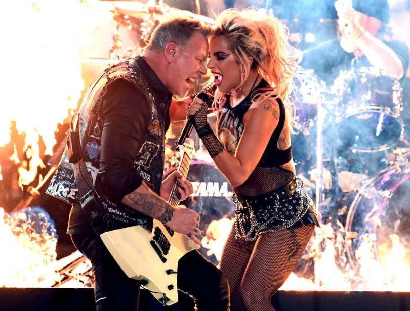 Metallica Lady Gaga